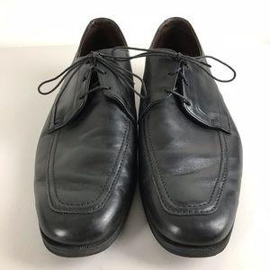 Allen Edmonds Mens Size 11.5 D Black Leather Shoes